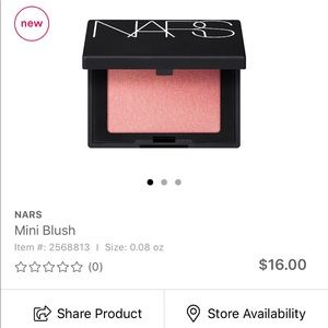 NARS Mini Blush